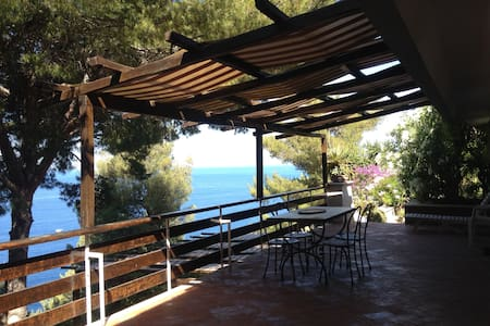 Panoramic apartment on the sea (1) - Cala Piccola
