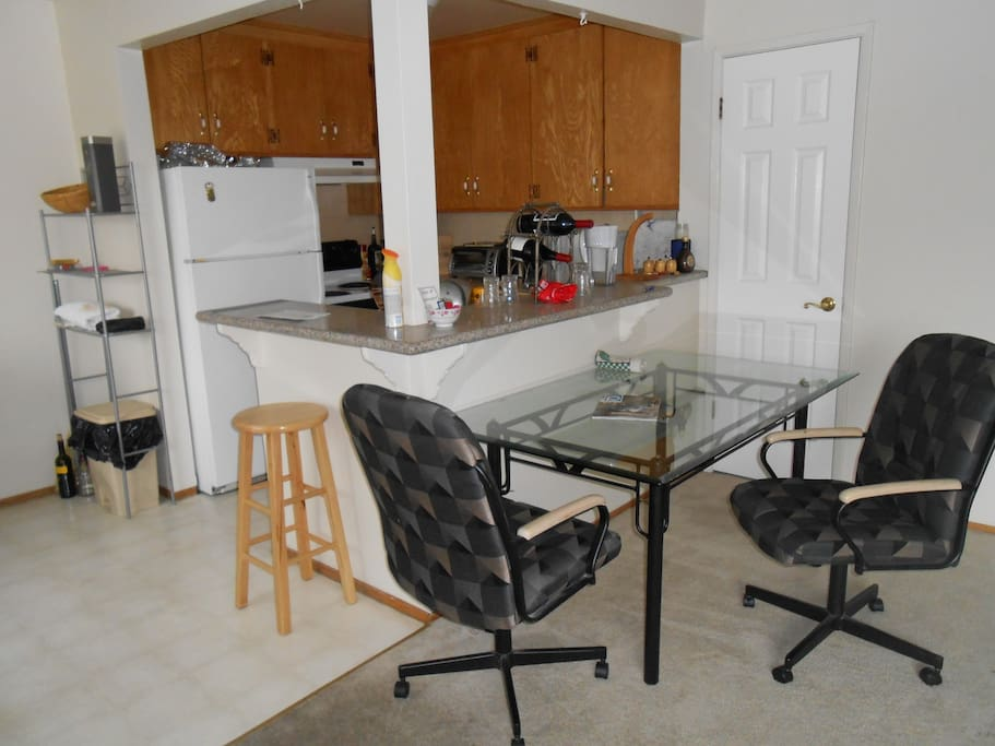 Full kitchen with access to all appliances