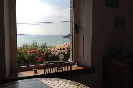 Maison pleine vue mer - Saint-Michel-en-Grève - 獨棟
