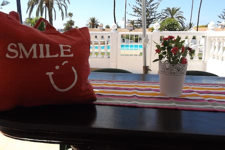 Smile bung.2 room And Pool View - Maspalomas