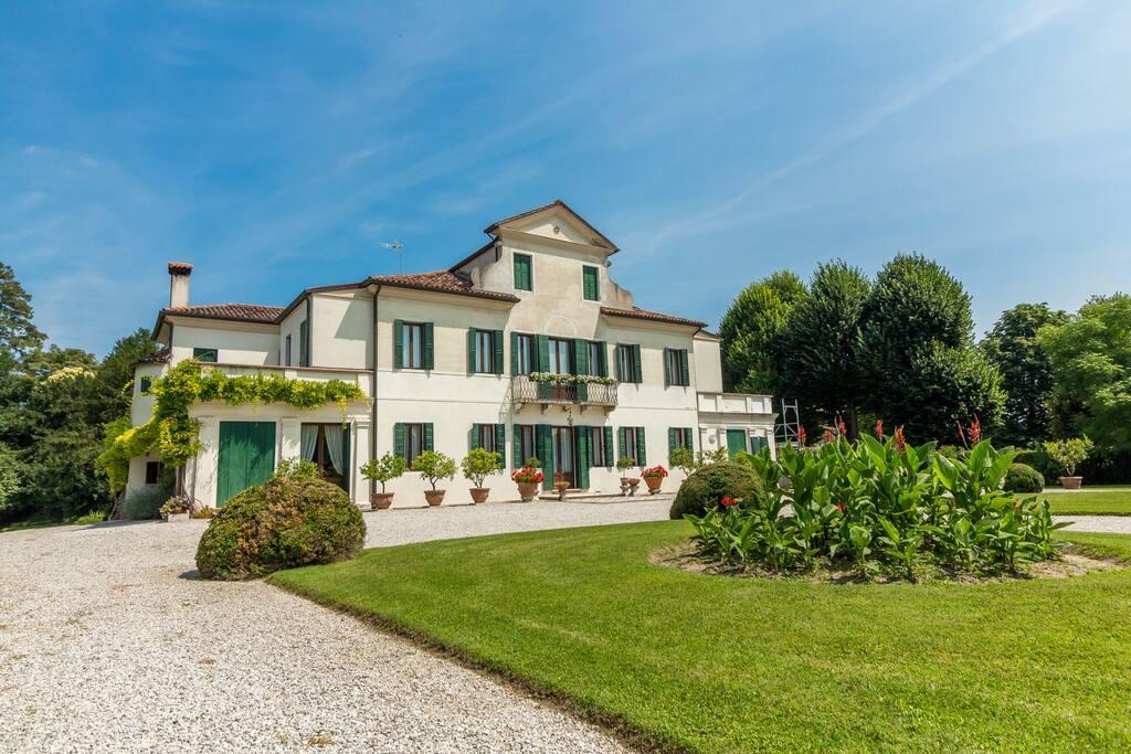 Villa .Fronte Riviera del Brenta
