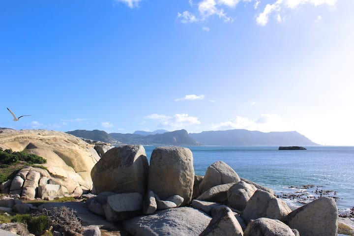 Boulders Beach House with beautiful views