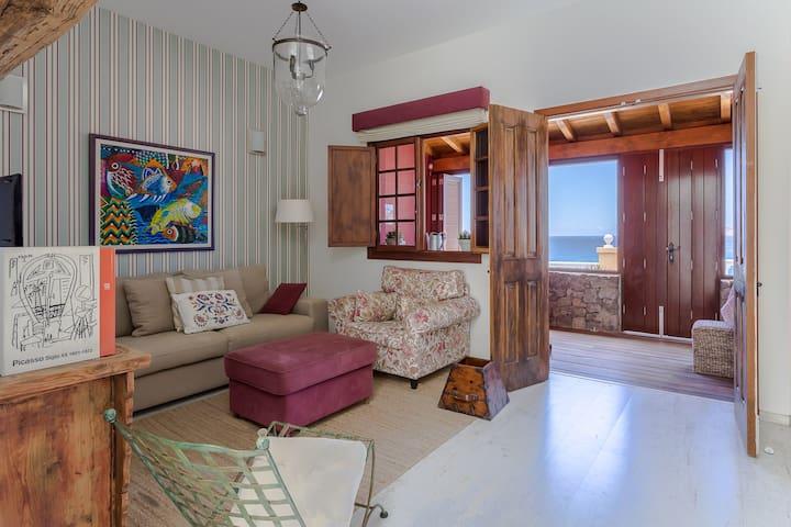 Tranquilidad frente al mar - Taliarte - Apartment
