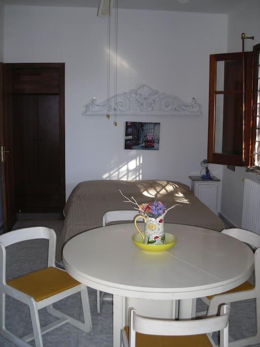 Appartamento visto dall'ingresso