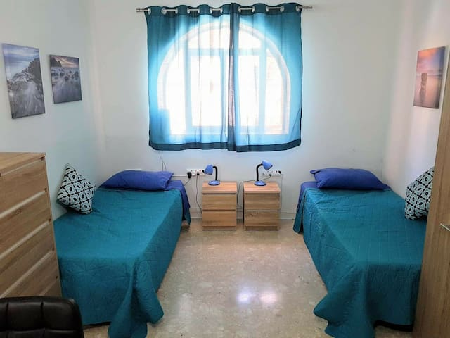 Cosy new room with 2 beds in swieqi