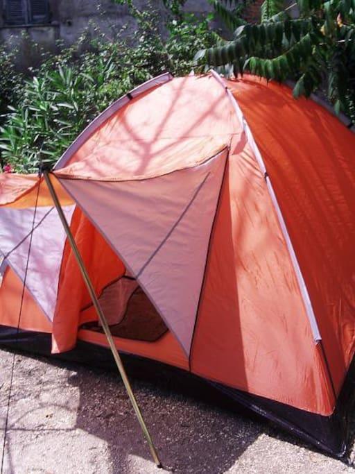 Zelt für 2 max 3 Personen
