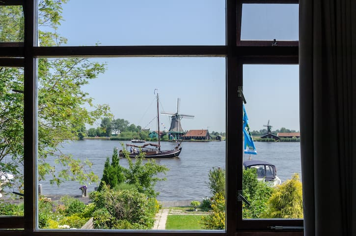 At the river opposite Zaanse Schans - Zaandijk - Bed & Breakfast