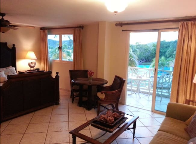 Studio Villa with Pool and Ocean View - Culebra
