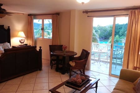 Studio Villa with Pool and Ocean View - Culebra - Apartamento