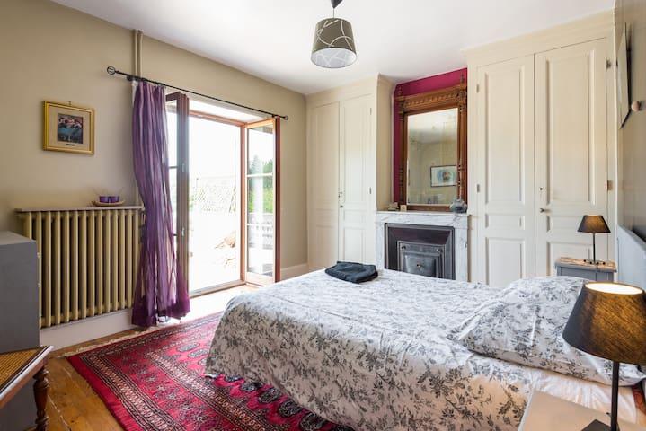 chambre terrasse - Brindas - House