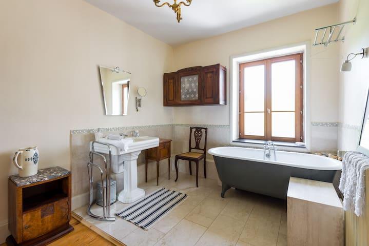 Lyon nature chambre Aubusson  - Brindas - Casa