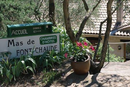 Mas de Font Chaude - Chambre Lilas