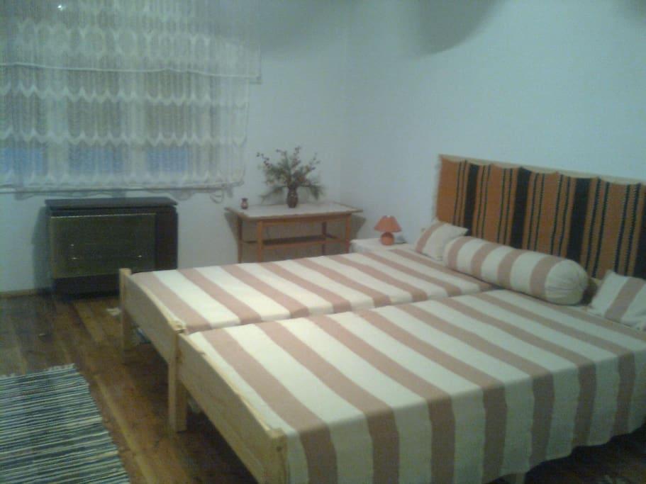 Kellemes, kényelmes hálószoba
