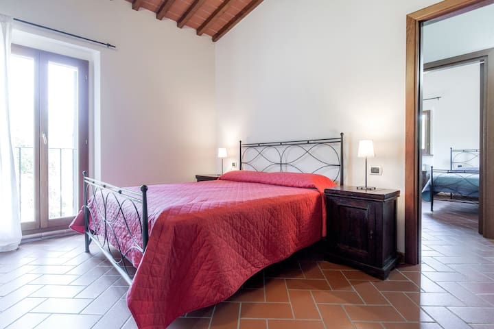 (2)TERRATETTO  restaurato 4/5posti - Greve in Chianti - Maison
