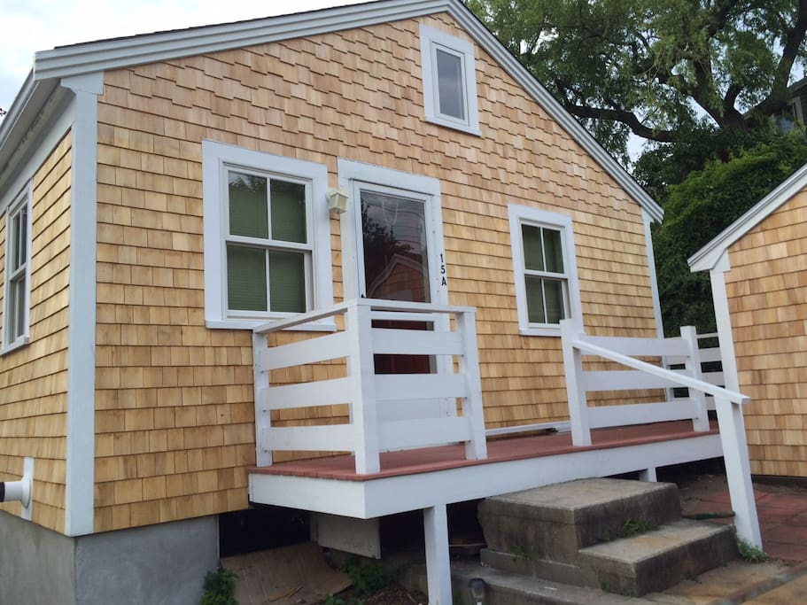 Charming, renovated cottage located in a quite spot yet right in the heart of everything Ptown has to offer.