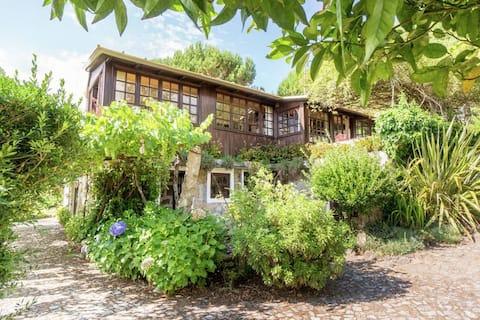cottage in landelijke omgeving