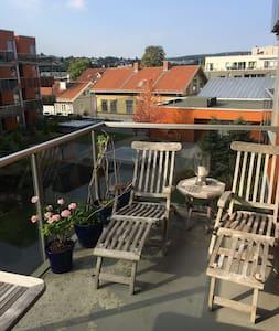 Sentralt - rolig - 10 min Oslo S - Lillestrøm - 公寓