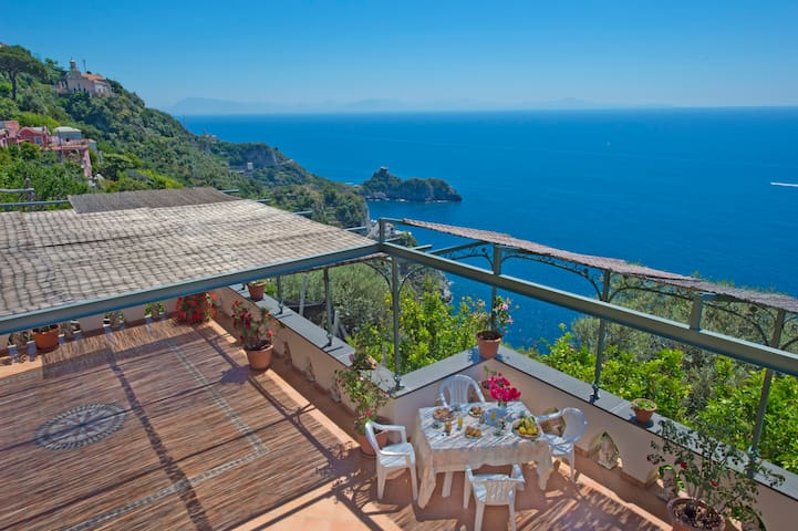 Valentina large terrace,view + WiFI - Conca dei Marini - Apartment