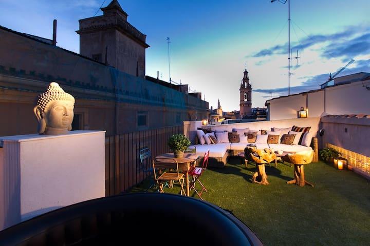 Caballeros 1 - Precious penthouse - Valencia - Appartement