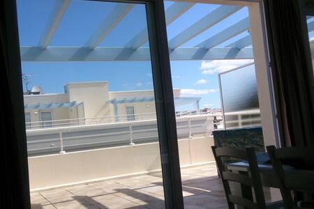 La Baule T2 + terrasse 20m², piscine,  mer 250m - La Baule-Escoublac - Apartamento