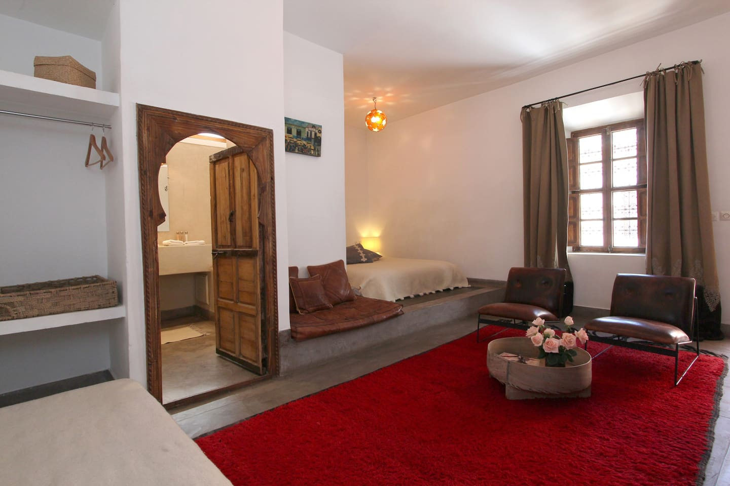 Nice double room with cheminée