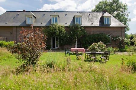 Farm house Normandie for 10 people - Veauville-lès-Baons - Rumah