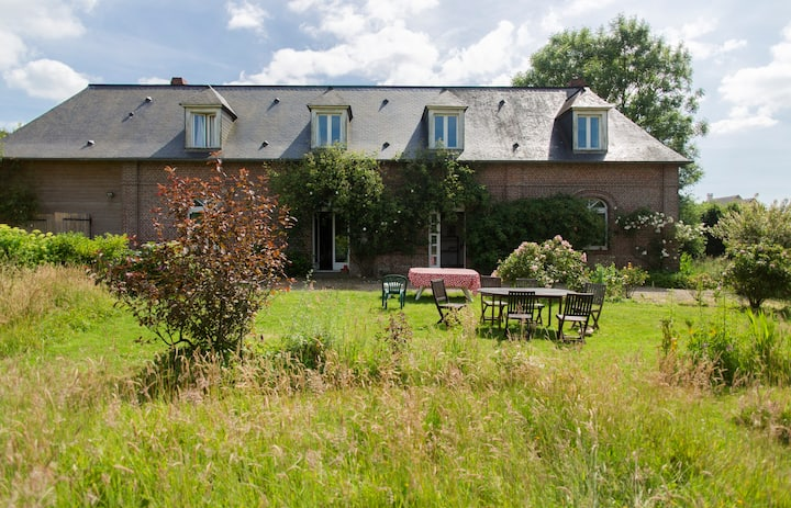 Farm house Normandie for 10 people