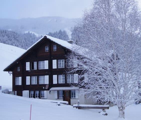 Top Ferienwohnung mit Sicht auf die Eigernordwand!