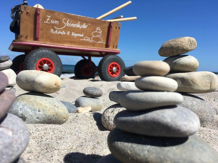 Schöne Ostsee-Terrassen-FeWo in Börgerende