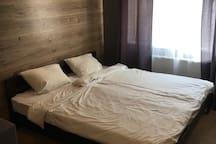 Modern loft style apartment in Pechersk