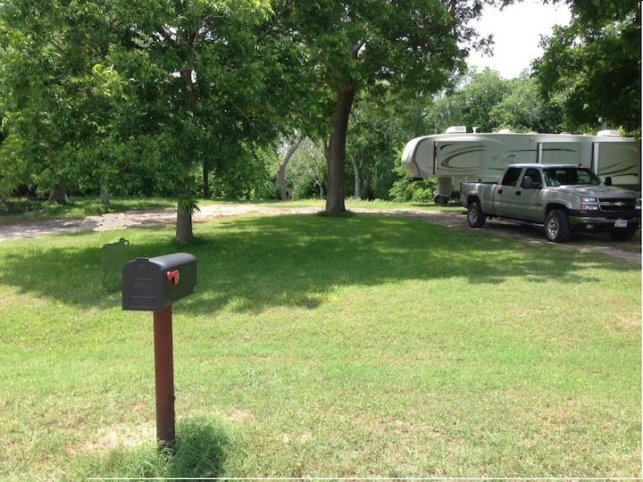 Guadalupe Riverfront RV LOT D, for YOUR RV