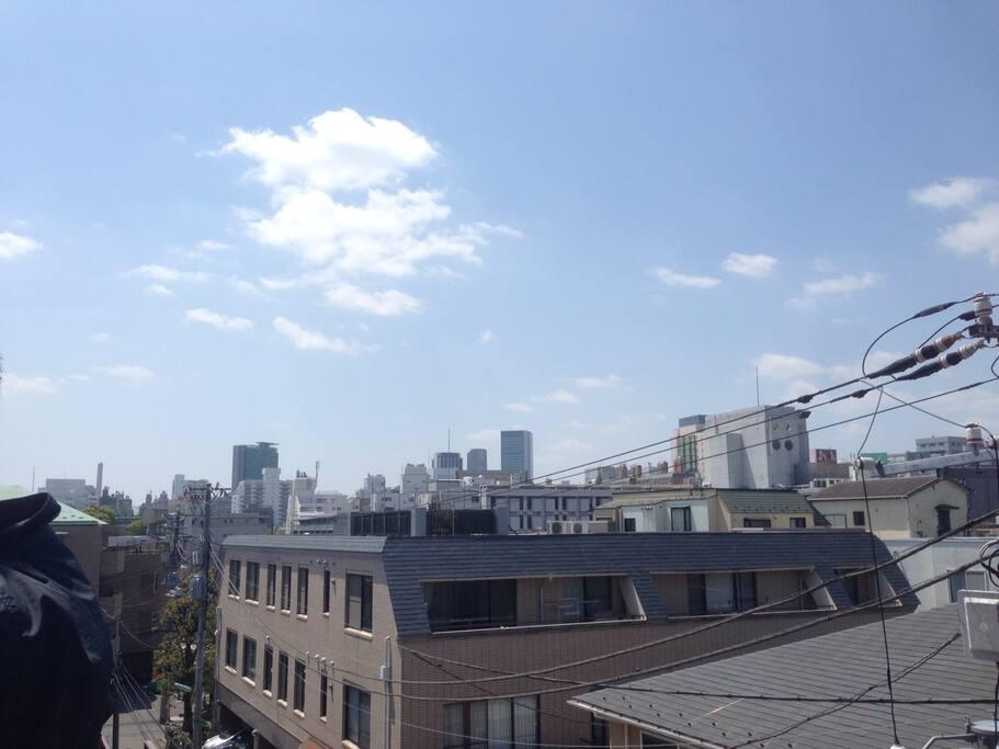 Scenery from the balcony