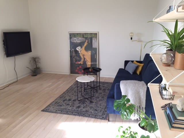 Modern, light and big apartment close to Aalborg - Norresundby - Apartament