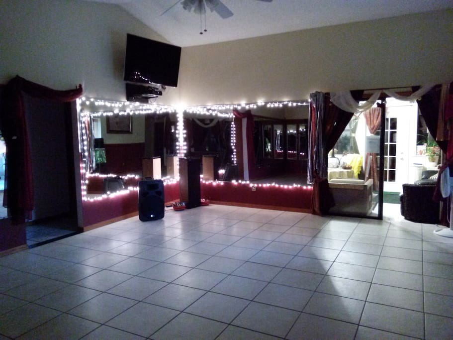 One of our many festive common areas