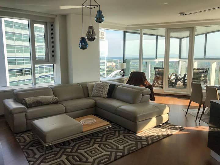 Eurovea city Apartment with amazing view