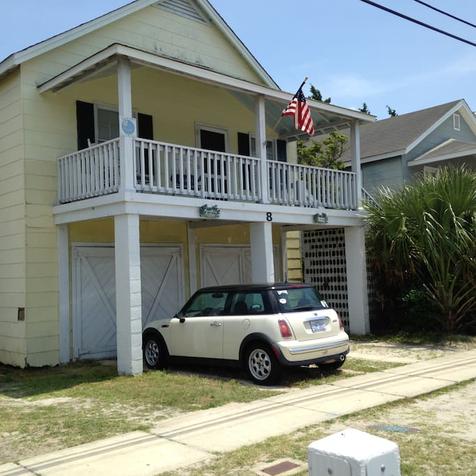 Wrightsville Beach House Rentals: Charming Cottage/Beautiful Wrightsville Beach, NC