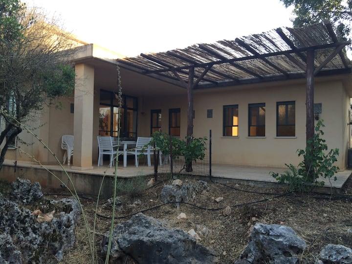 London House in Abirim Galilee
