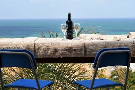Great sea view from sunny balcony - Havazelet hasharon - Ház