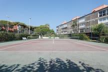 Second Tennis court