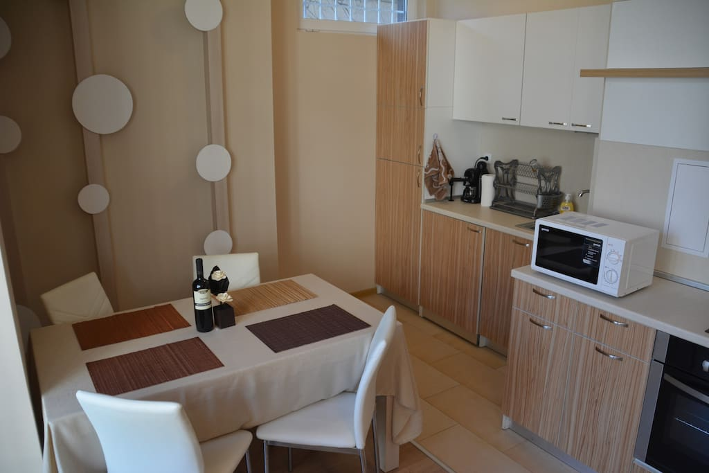 Dining area, Kitchen or kitchenette