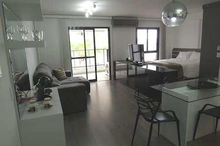 apart Igloo condomínio clube com garagem