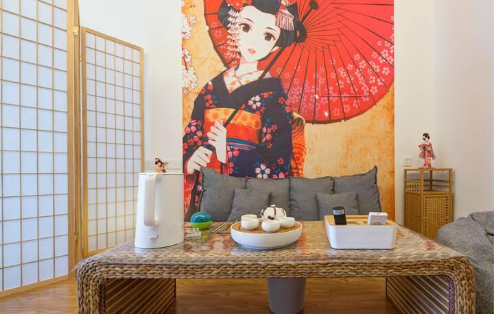 【心家泊】日式公寓 宝龙/三坊七巷/东街口 2公里 高层 俯瞰 24小时安保