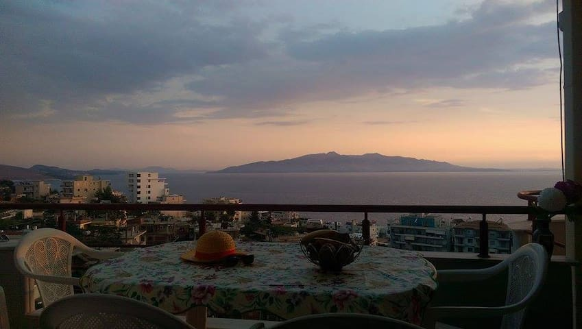 Beatiful view of ionian coast - Sarandë - Apartment