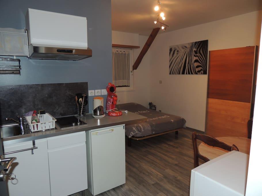 studio 15km de strasbourg appartements louer furdenheim france. Black Bedroom Furniture Sets. Home Design Ideas