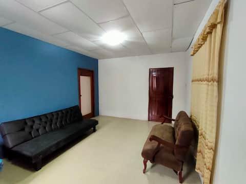 Suite confortable totalmente independiente