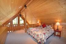 Loft/master bedroom