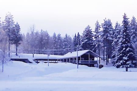 Villa in Lapland with Sauna and reindeers