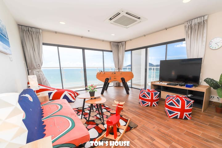 270° Sea View/ 100m to beach/ Patong Tower/S4a
