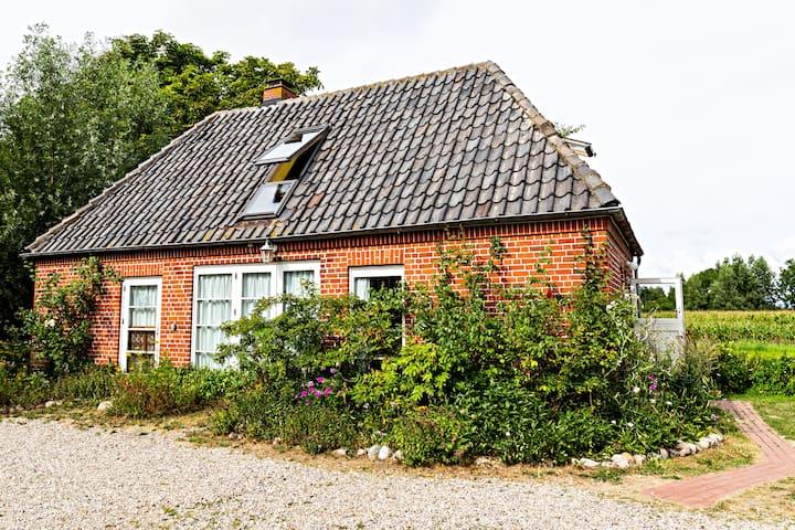 Kleines Haus in Wasserkoog