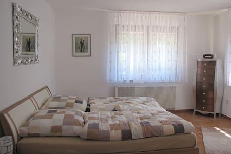 Wunderschöne Wohnung direkt am Wald - Gorxheimertal - Lejlighed